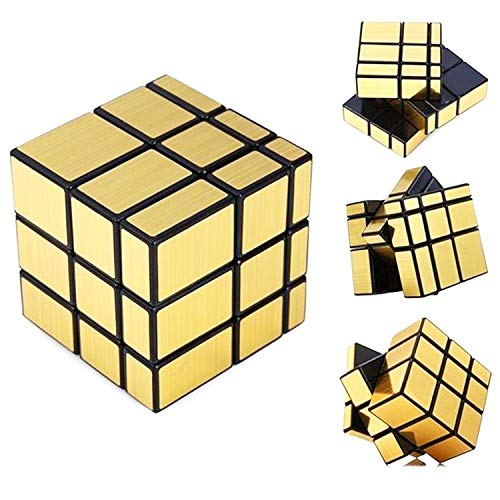 Bihood Mirror Cube Puzzle Speed Cube ADD ADHD Anxiety and Autism ADHD Fidget Toys ADHD Fidget Speed Cube Puzzle Smooth Magic Cube Mirror Cube Brain Teaser