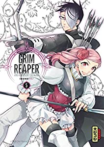 The grim reaper and an argent cavalier Edition simple Tome 5