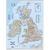 National Geographic Map British Isles, Planokarte