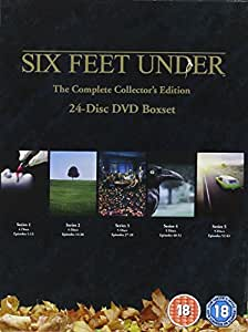 Six Feet Under - Complete HBO Seasos 1-5 Collector's Edition (24 Disc Box Set) [DVD] [2006]