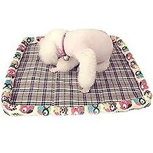 Pet Online Transpirable de Pet Pet ventilación Verano Mat Mat Anti Transpirable húmedo Perro Gato Mascota