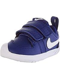 Nike Pico 5, Gymnastics Shoe Unisex-Baby, Deep Royal Blue/White, 19.5 EU