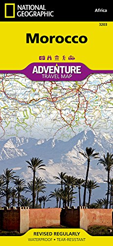 Morocco: Travel Maps International Adventure Map por National Geographic Maps