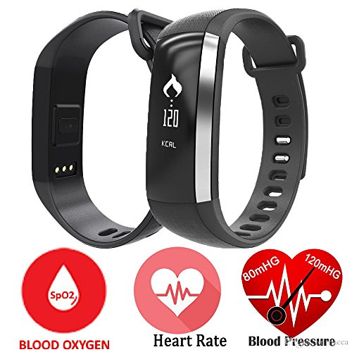 Unchained-WarriorTM-D-ALTA-100-WATERPROOF-HIGHLY-RATED-SMART-BRACELET-WITH-HEART-RATE-MONITOR-BLOOD-PRESSURE-BLOOD-OXYGEN-RUNNING-MAPS-REMOTE-CAMERA-AND-MUSIC-CONTROL-Precise-and-Accurate-Measurements