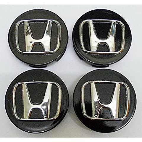 NUEVO 4pcs. Honda CRV Accord Civic Odyssey Elemento Pilot ajuste Center Cap Hub Rueda Caps