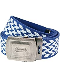 Pattern Belt Blue and Sky Blue. Cool Stylish Clothing for Him and Her