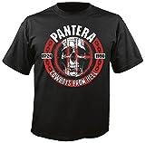 Pantera CFH - Skull - T-Shirt Größe L