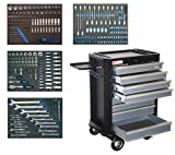 BGS - 4100 servante d'atelier complète avec 293 outils