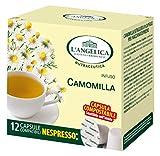 L'Angelica Tisana Camomilla in Capsule - 5 Confezioni da 18 g