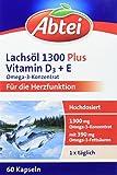Abtei Lachsöl 1300 60er, 1er Pack (1 x 109 g)