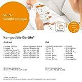 Beurer AS 80 Aktivitätssensor, optimale Aktivitätskontrolle und Schlafanalyse, Kalorienverbrauch, mit App - 5