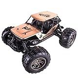 Wokee 1:12 2.4G 2WD Legierung High Speed RC Monster Truck Fernbedienung Geländewagen Fernbedienung Racing Rennauto Auto Fahrzeug mit Off Road Auto RTR Spielzeug Neu