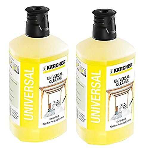 Kärcher Universal Auto Garten Terrassenreiniger Hochdruckreiniger Waschmittel K2–K71Liter x 2