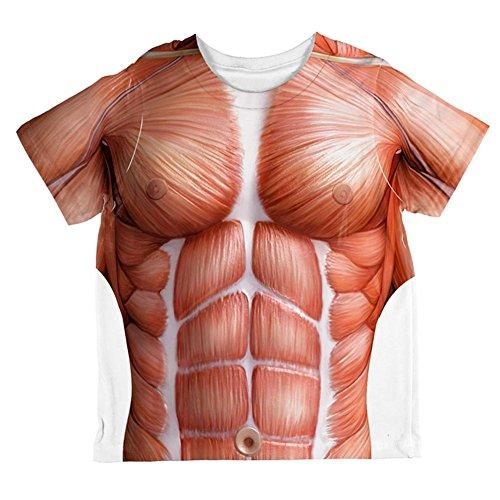 tomie Kostüm aller Kleinkind T Shirt Multi 2 t (Baby-muskel-kostüm)
