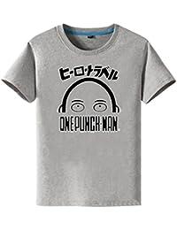 Bromeo ONE PUNCH-MAN Anime Ropa Mangas Cortas Tee T-shirt Camisetas