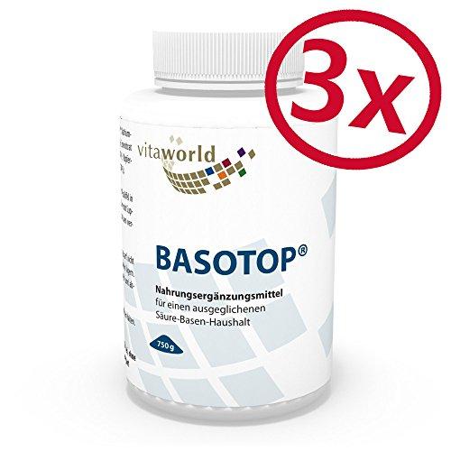 3er Pack Vita World Basotop Balance Basenpulver 2250g Apotheken Herstellung
