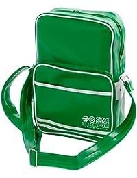 Crosshatch - Cartera de mano para hombre Verde verde