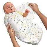 SwaddleMe - Ganzkörper-Pucksack ist ideal bei Schreibabys. Baumwolle, verschiedene Farben und Größen.