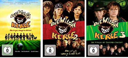 Die wilden Kerle - Kinofilm 1+2+3 im Set - Deutsche Originalware [3 DVDs]