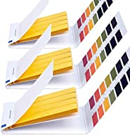 PH 1-14 Test Paper, FANDAMEI 3 Pack 240 Pieces Litmus pH Test Strips, Universal Indicator Test Paper for Water