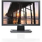 Dell E1709W 17 inch LCD Flat Panel Monitor - Black
