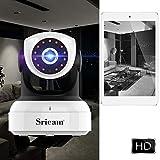 Sricam SP017 Videocamera di Sorveglianza 720P Telecamera IP camera sorveglianza wifi con Audio Bidirezionale, Sensore di Movimento, Visione Notturna 8M, Controllo Remoto, Compatibile con iOS/Android