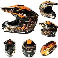 XBDOT Motocross Casco Dot & ECE Certificado Cuatro Ruedas Anti-colisión DH Casco MX Cascos