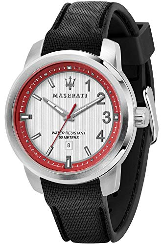 Maserati Royale Mens Analogue Quartz Watch with Silicone Bracelet R8851137004