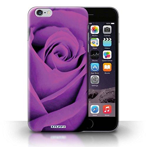 Kobalt® Imprimé Etui / Coque pour iPhone 6+/Plus 5.5 / Jaune conception / Série Rose Pourpre