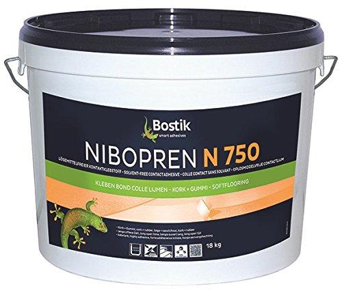Bostik Nibopren N 750 Korkbeläge Latexklebstoff 5.5kg Eimer