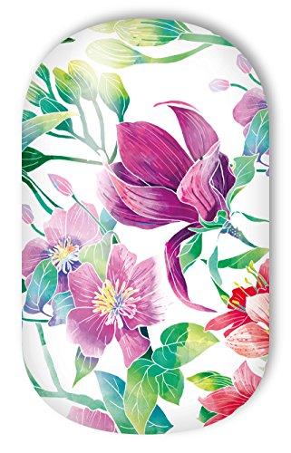 Miss Sophie's Nagelfolien Tropical Garden: Nail Wraps - 20 ultra-dünne selbstklebende langanhaltende Nagelfolien