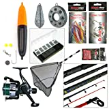 Sea Fishing Kit with Travel Rod & Reel - Best Reviews Guide