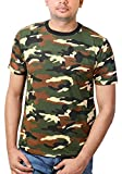 #10: Wear Your Opinion Military brown Camouflage Premium Rich Cotton Half Sleeve T shirt For Mens
