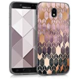 kwmobile Samsung Galaxy J5 (2017) DUOS Hülle - Handyhülle für Samsung Galaxy J5 (2017) DUOS - Handy Case in Pink Rosegold