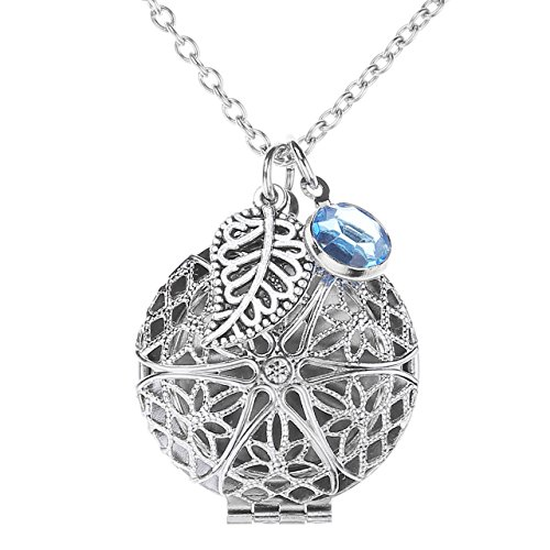 jovivi-antique-silver-round-aromatherapy-essential-oil-diffuser-leaf-crystal-locket-necklace-with-6-