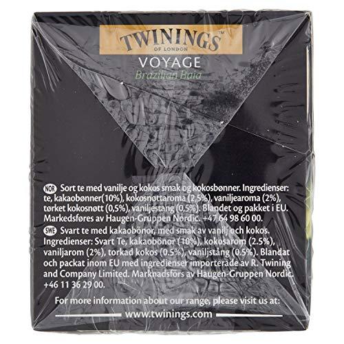 Zoom IMG-2 twinings t nero aromatizzato voyage