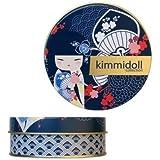 """Kimmidoll Collection - Bougie Parfumée Tsukiko """"Assurance"""" - Parfum : Citron Vert - Accessoire de Décoration pour la Maison Neuf"""
