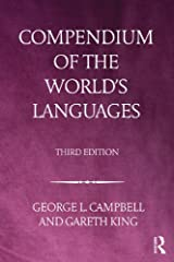 Compendium of the World's Languages Kindle Edition