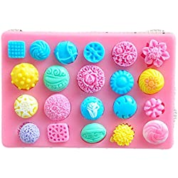 SaySure - Beautiful flowers hower party fondant molds,silicone mold soap