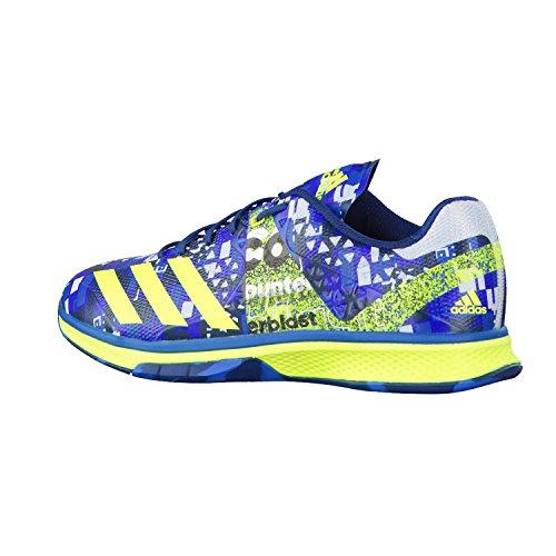 adidas Counterblast Falcon, Chaussures de Handball Homme Bleu - Azul (Azuimp / Amasol / Azuhie)