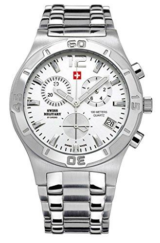 51WOJVK4rIL - Swiss Military SM34015.02 By Chrono Mens watch