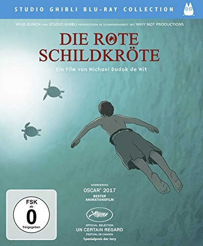 Die rote Schildkröte - Studio Ghibli Blu-ray Collection (Schildkröten Cartoon)