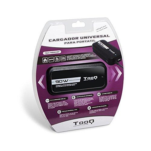 TooQ TQLC-90BS02AT - Cargador adaptador...