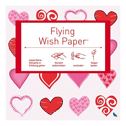 sh Paper Hearts Red mini (Silvester-party Pack)