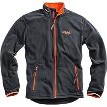 FLM Fleecejacke Herren Sports Fleece Jacke Herren 1.0, Outdoor, Freizeit, Sportbekleidung, Microfleece, kontrastfarbene Details