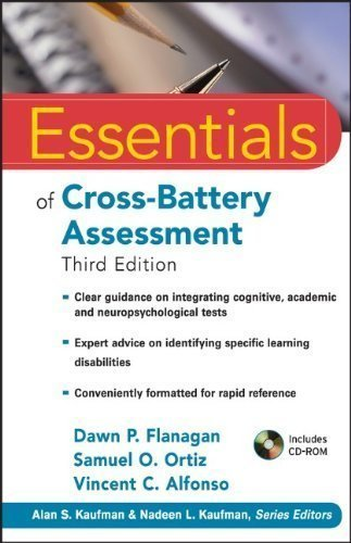 Essentials of Cross-Battery Assessment (Essentials of Psychological Assessment) by Flanagan, Dawn P. Published by Wiley 3rd (third) edition (2013) Paperback
