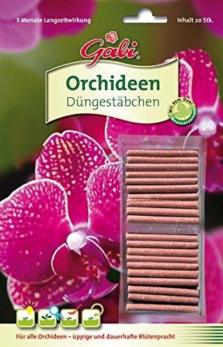 Gabi Düngestäbchen Orchideen 20 Stück im Test