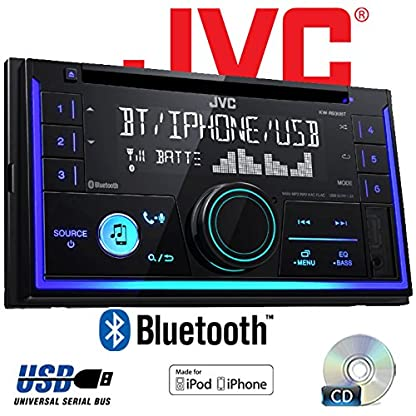 Autoradio-Radio-JVC-KW-R930BT-CD-Bluetooth-Android-Apple-MP3-USB-Einbauzubehr-Einbauset-fr-VW-Polo-9N3-2-JUST-SOUND-best-choice-for-caraudio