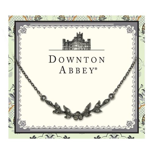 Downton Abbey Collection Collana Jeweled Jet Leaf 17577