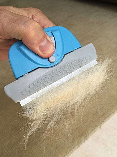 Dog & Cat Brush For Shedding, Best Deshedding Tool For Long & Short Hair Pet Grooming Tool & Shedding Brush - With Fur… 4